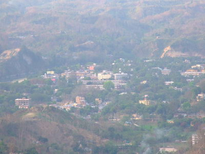 View of Bandarban City from Tiger Hill