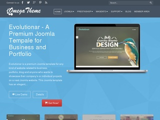 Top joomla club template maker - OmegaTheme