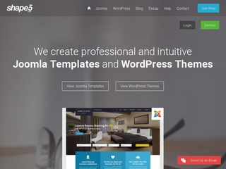 Top joomla club template maker - Shape5