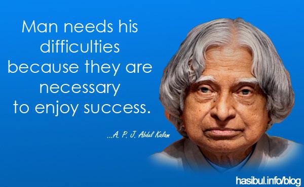 Dr. A P J Abdul Kalam - Ex President of India - Missile Man