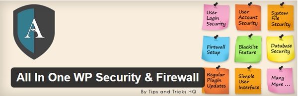 all in one wp security and firewall for wordpress protection