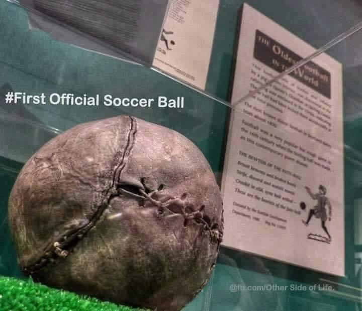 First Official Football