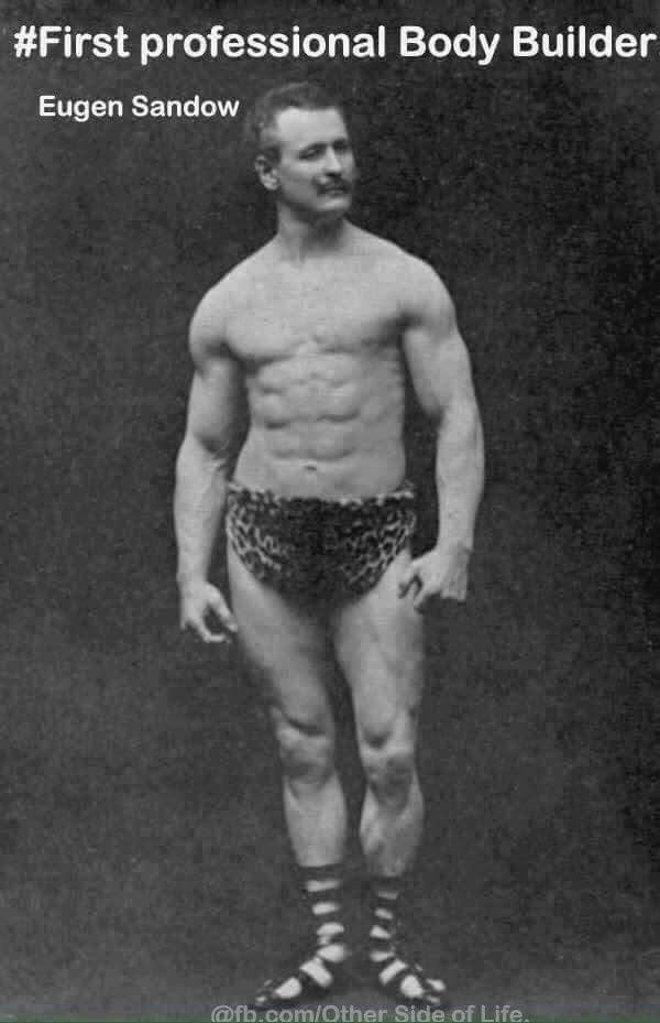 First Professional Body Builder