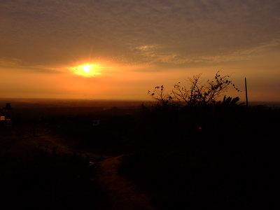 Sunset at Tiger Hill - Bandarban