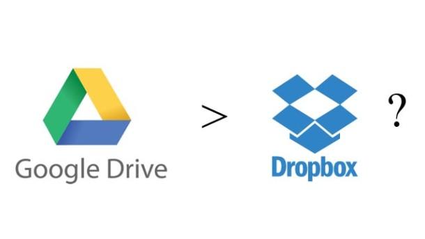 Google Drive is better than Dropbox