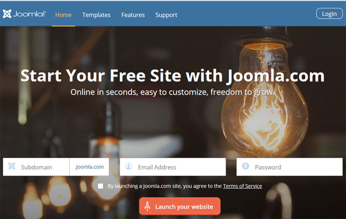 free joomla subdomain - free forever