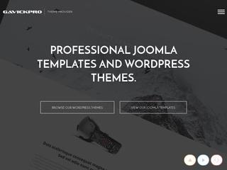 Top joomla club template maker - GavickPro