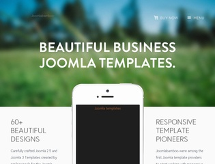 Top joomla club template maker - JoomlaBamboo
