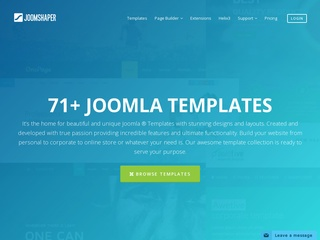 Top joomla club template maker - JoomShaper