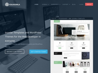 Top joomla club template maker - YouJoomla