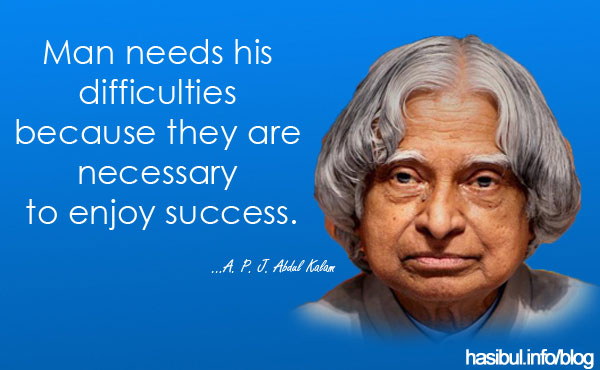 Dr. A P J Abdul Kalam - Ex President of India - Missile Man