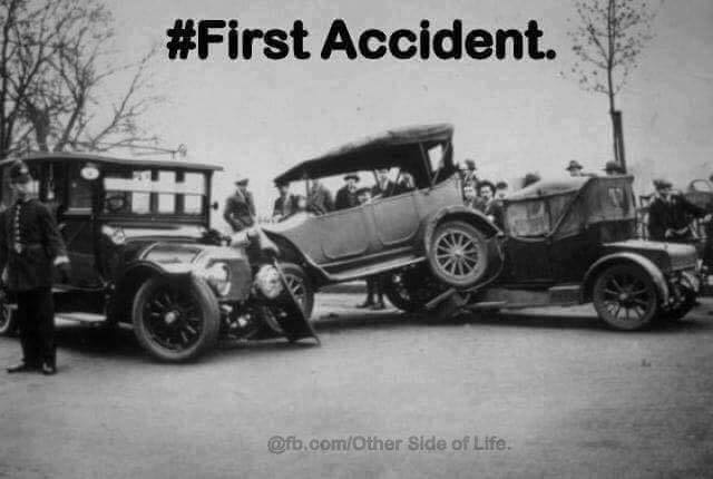 First Car Accident Photographed