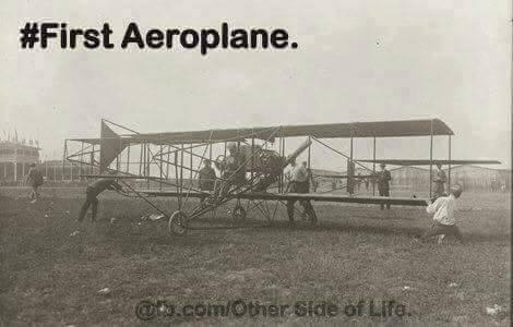 First Aeroplane