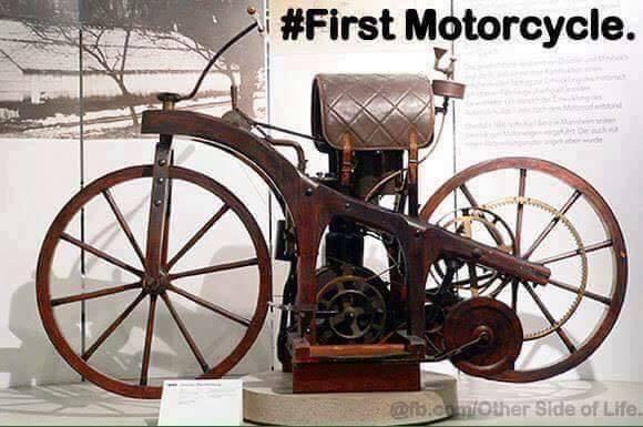 First Motorobike / motorcycle