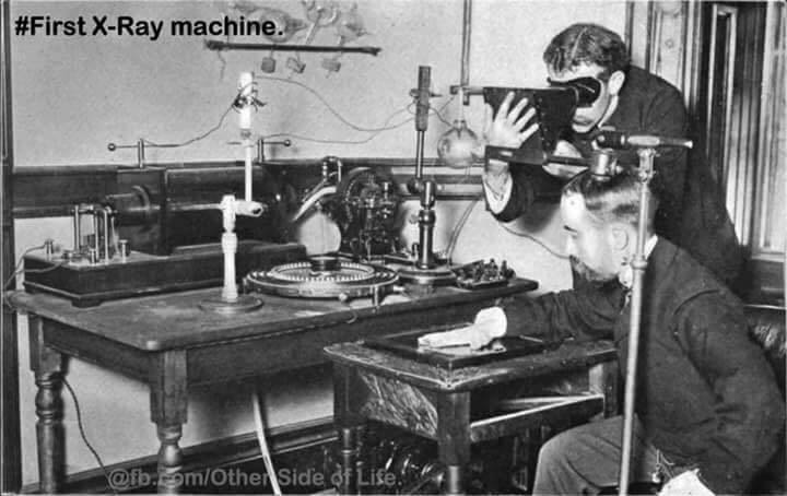 First X-Ray Machine