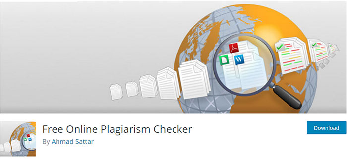 free plagiarism checker plugin for wordpress for unique content